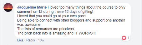 Blogging Blastoff Review
