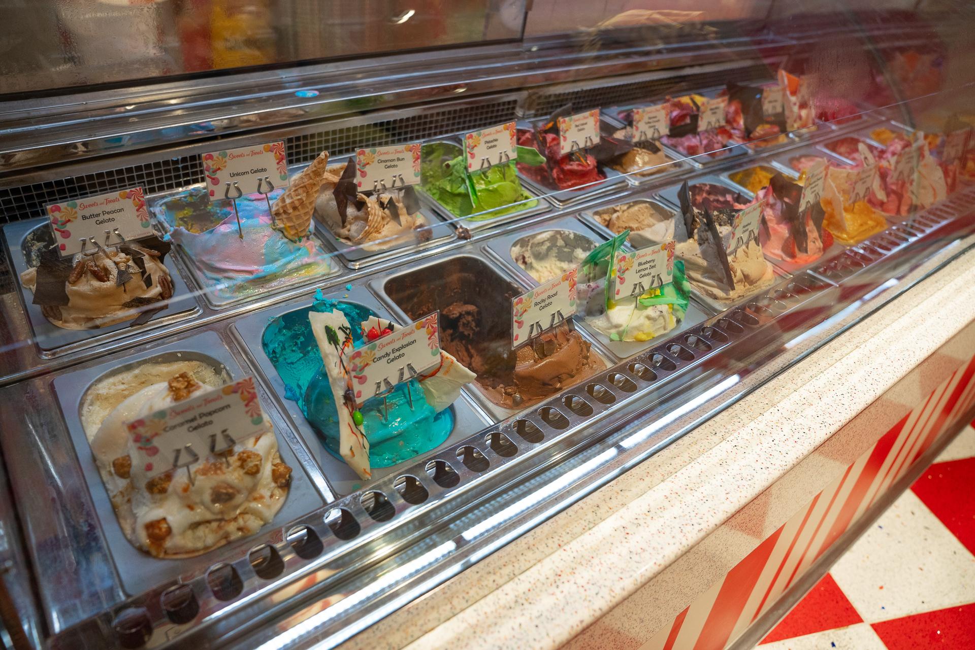 Vanellope's Sweets & Treats.