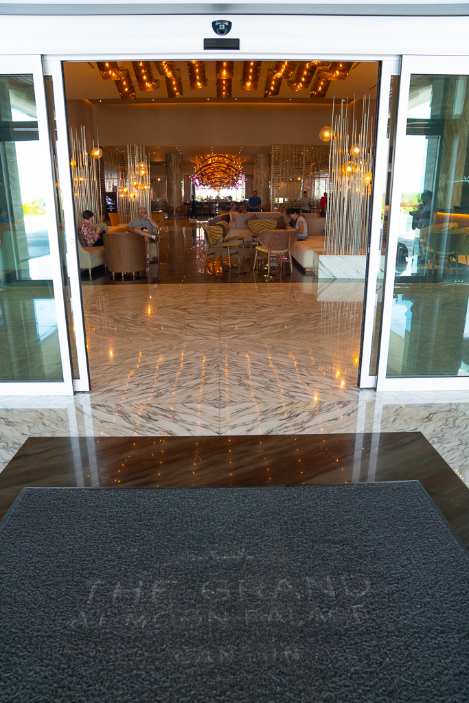 Entrance to the Lobby at the Grand at Moon Palace Cancun