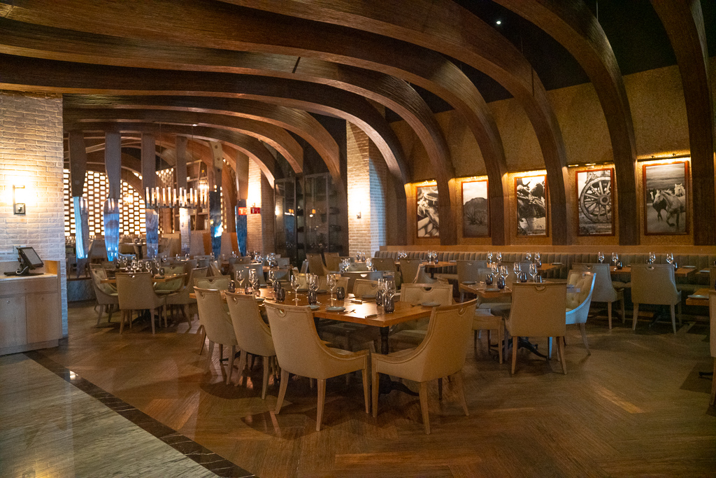Fine dining restaurant at the Grand at Moon Palace Cancun