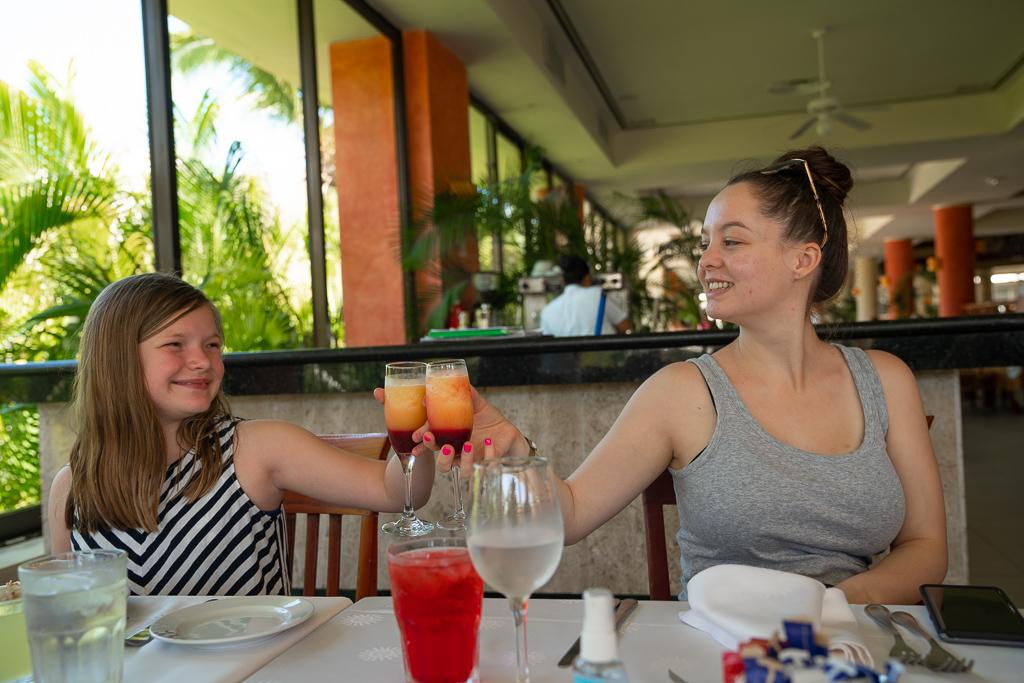 Family Breakfast at Grand Bahia Principe Coba
