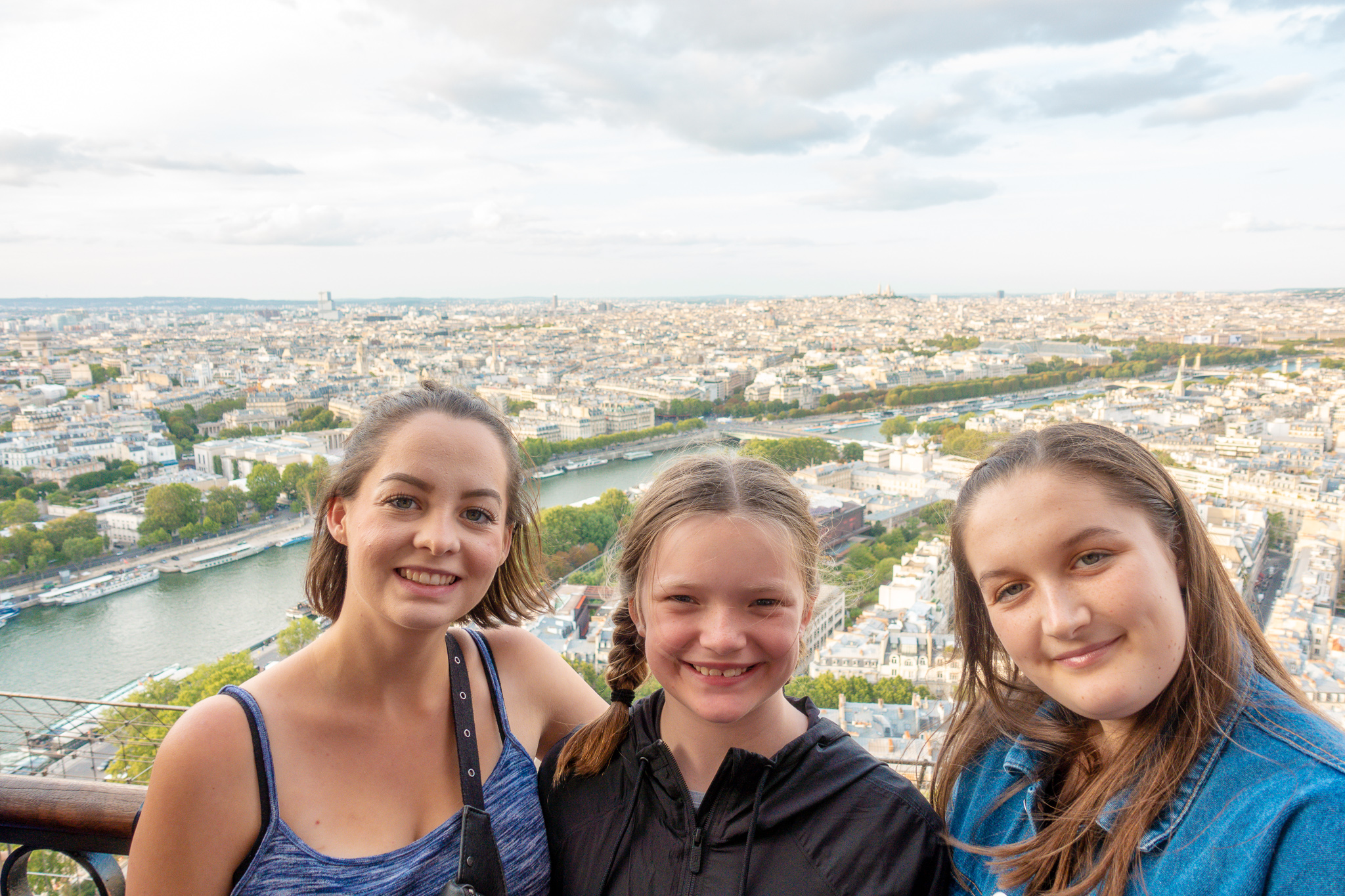 View from The Eiffel Tour