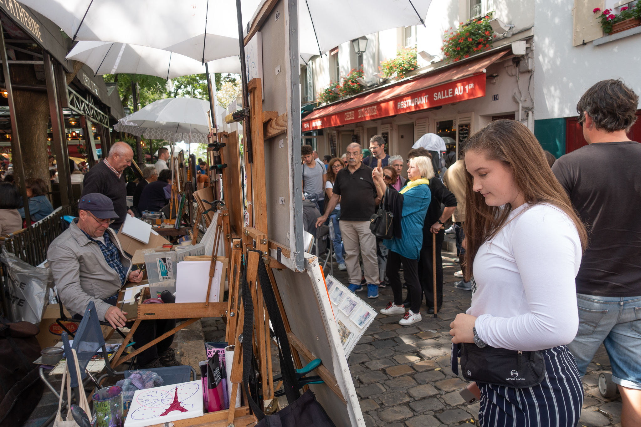 Montmartre art walk