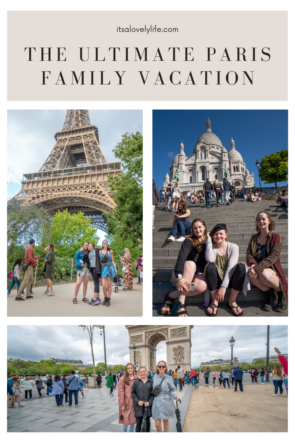 The ultimate family vacation guide to Paris
