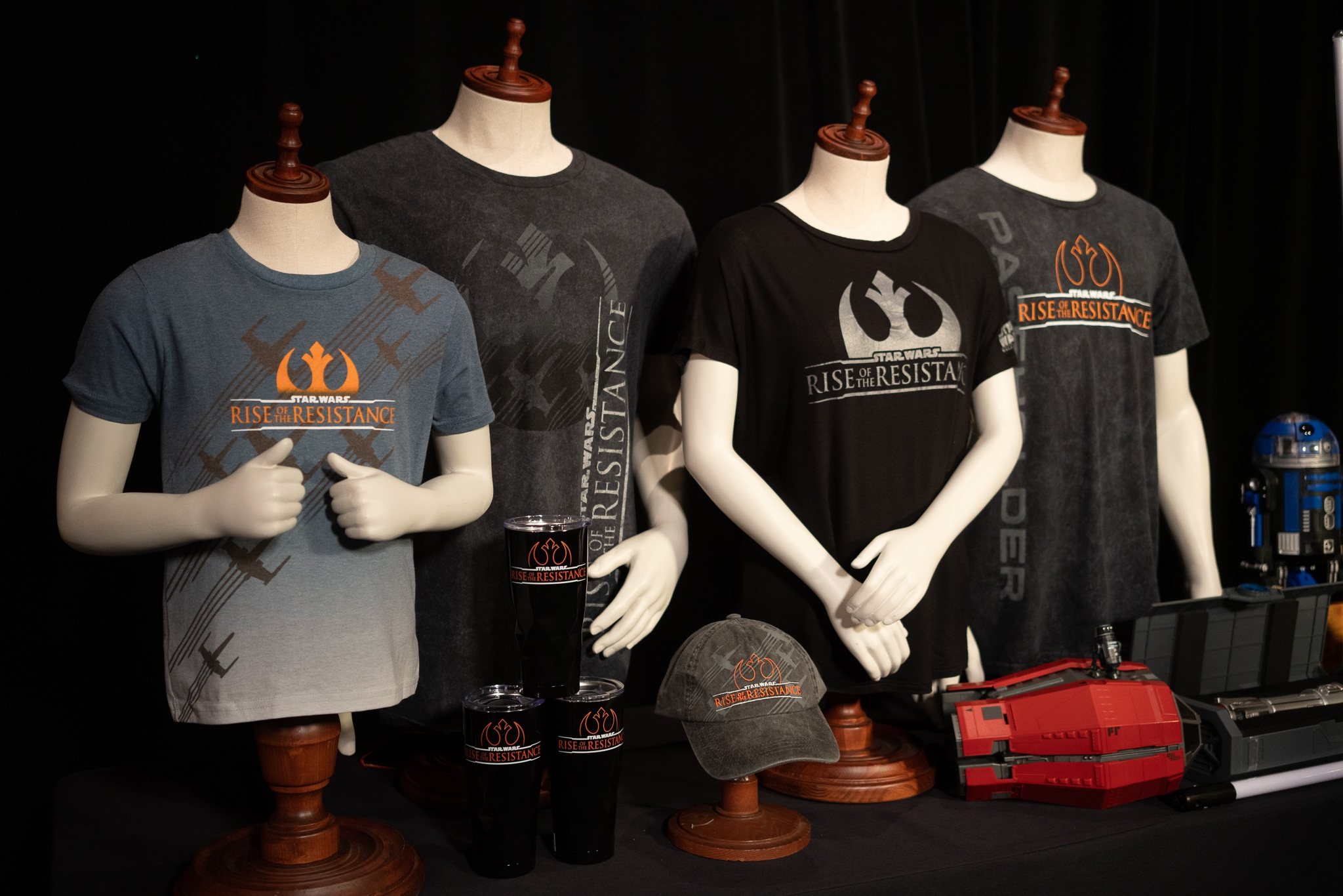 STAR WARS: Rise of the Resistance new merchandise