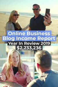 Online business blog income report 2019 annual review pinterest