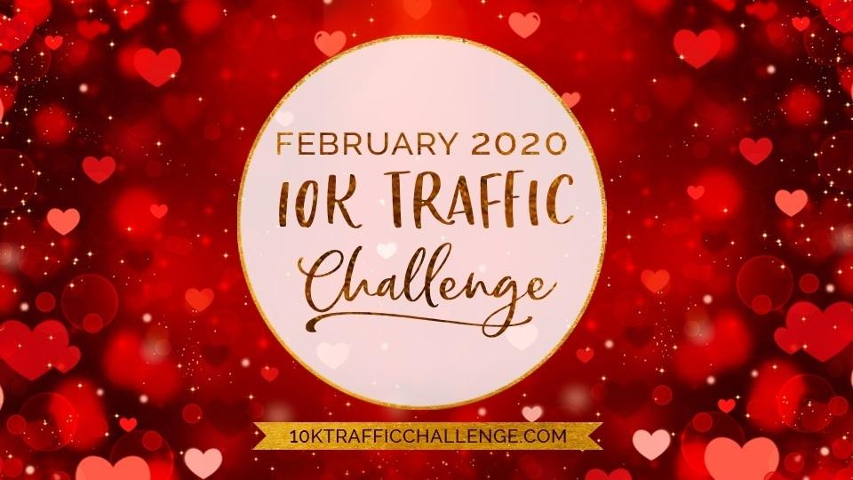 February 2020 free 10k blog traffic challenge