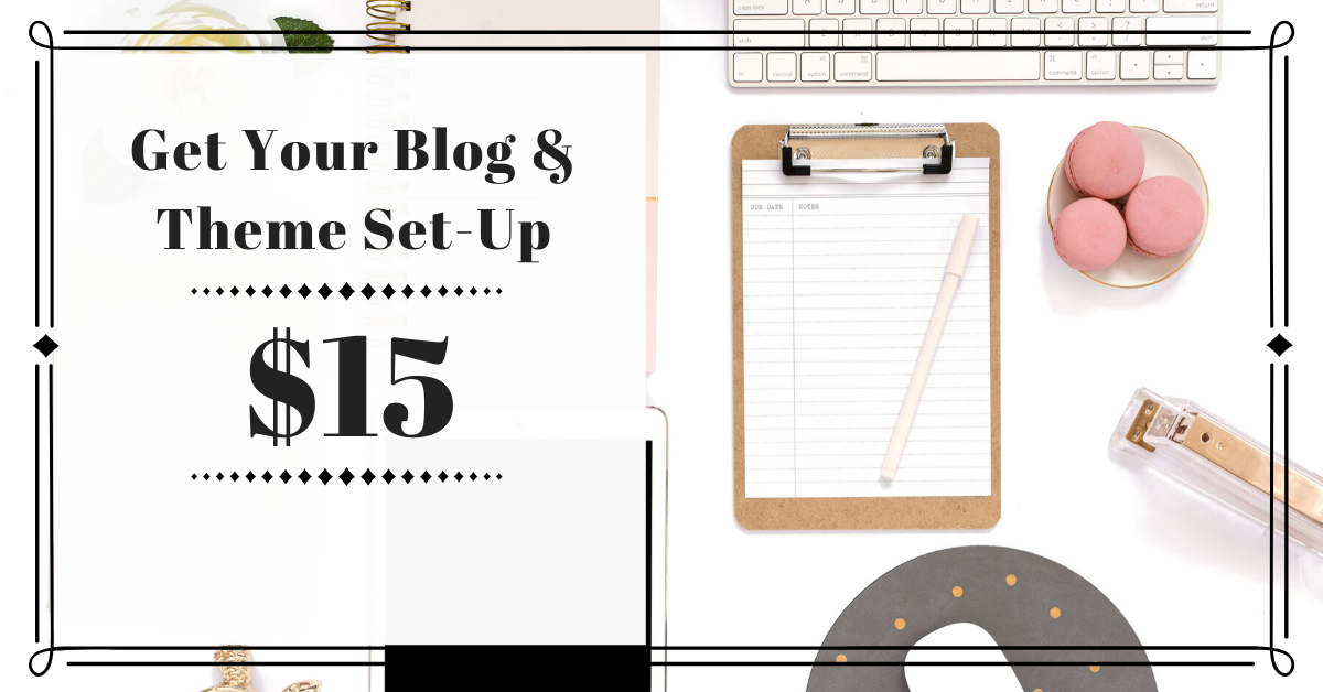 Get Help Setting Up Your Blog