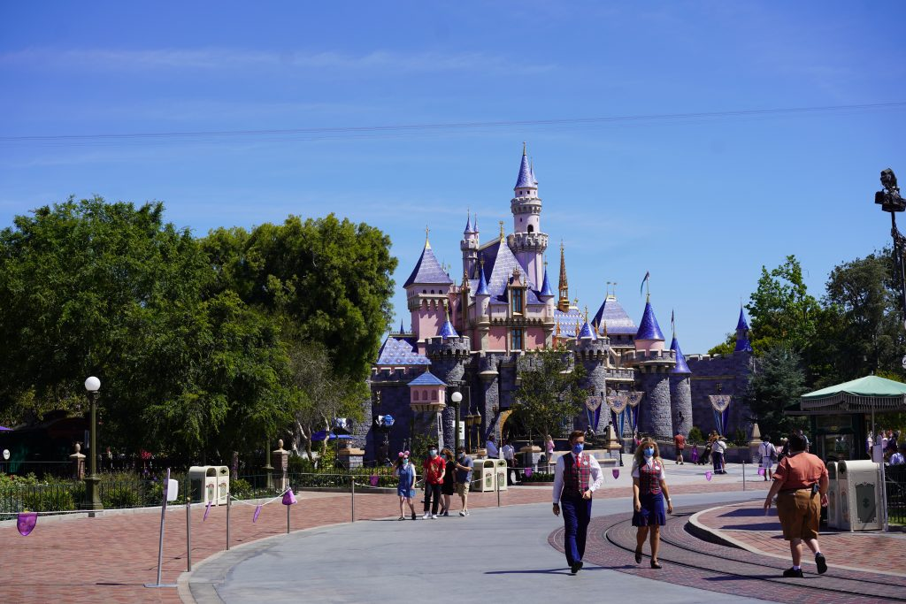Sleeping Beauty Castle at Disneyland Resort