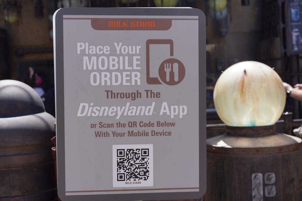 Using the Disneyland App
