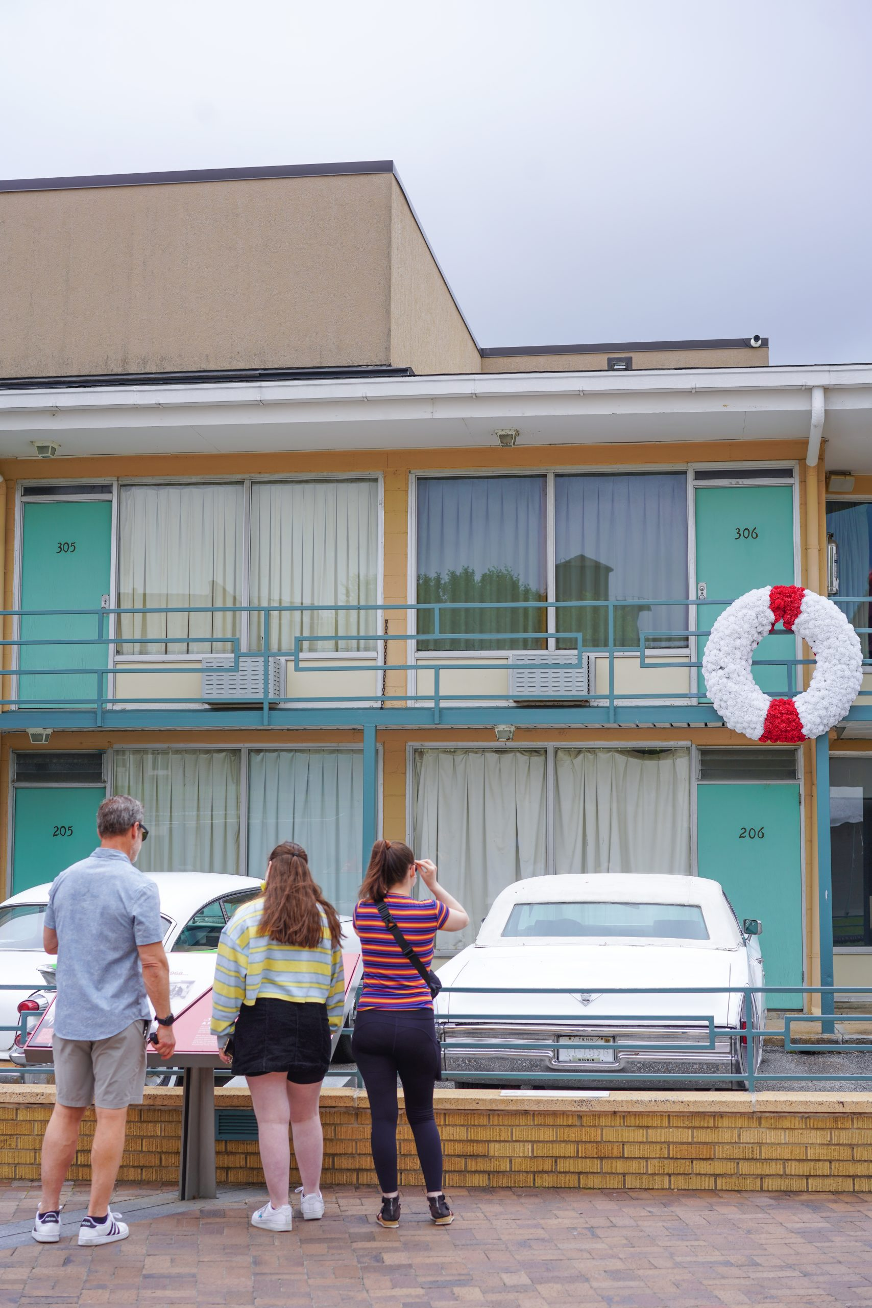 Dr. Martin Luther King Balcony at The Lorraine Motel Memphis, Tennessee
