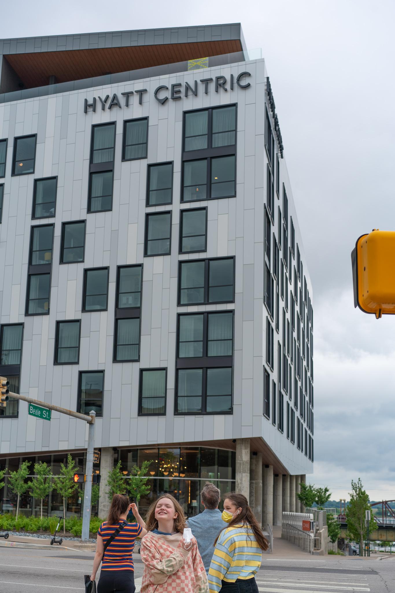 Mini review of the Hyatt Centric, Memphis